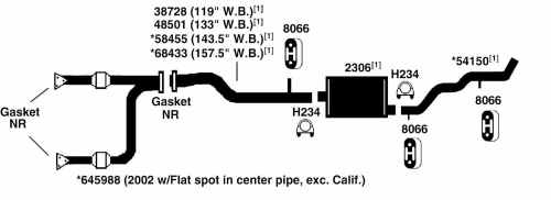 small resolution of chevrolet silverado 1500 exhaust diagram from best value auto parts2003 chevy silverado parts diagram 5