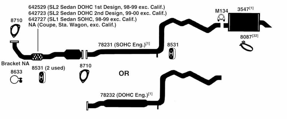 medium resolution of 1998 saturn sl series exhaust diagram category exhaust diagram 1997 saturn sl series exhaust diagram category