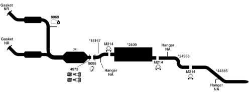 small resolution of ford explorer exhaust diagram from best value auto parts rh bestvalueautoparts com 2002 ford explorer sport trac exhaust system diagram 2000 ford explorer
