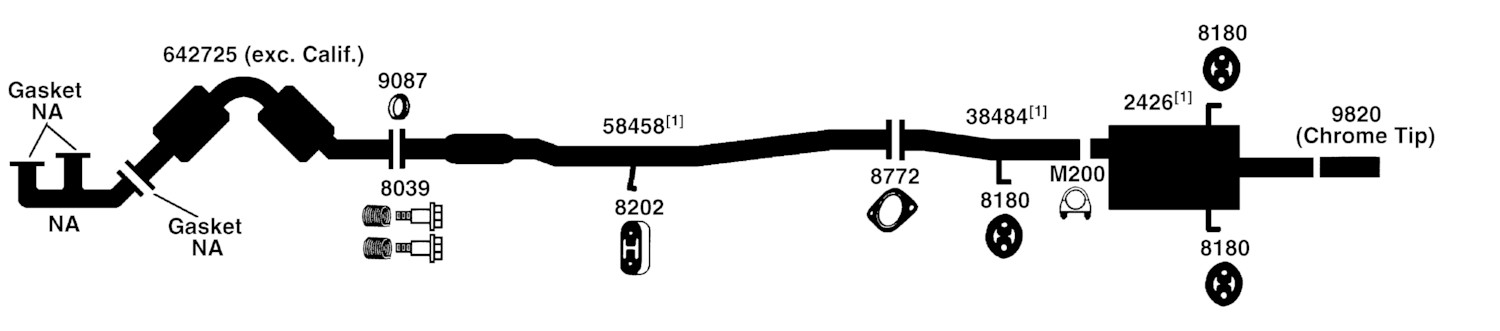 2002 subaru outback exhaust diagram 2004 mazda 6 bose subwoofer wiring 2000 forester great installation of from best value auto parts rh bestvalueautoparts com 2008