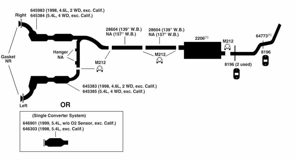 medium resolution of ford f150 exhaust diagram wiring diagram name 2011 ford f150 xl exhaust system diagram
