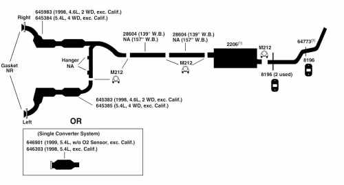 small resolution of ford f150 exhaust diagram wiring diagram name 2011 ford f150 xl exhaust system diagram