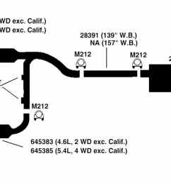 ford exhaust diagram simple wiring post ford f 150 5 4l engine diagram 1997 f250 [ 1500 x 708 Pixel ]