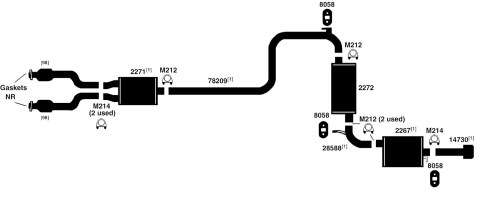 small resolution of dodge intrepid exhaust diagram from best value auto parts2003 dodge intrepid exhaust diagram