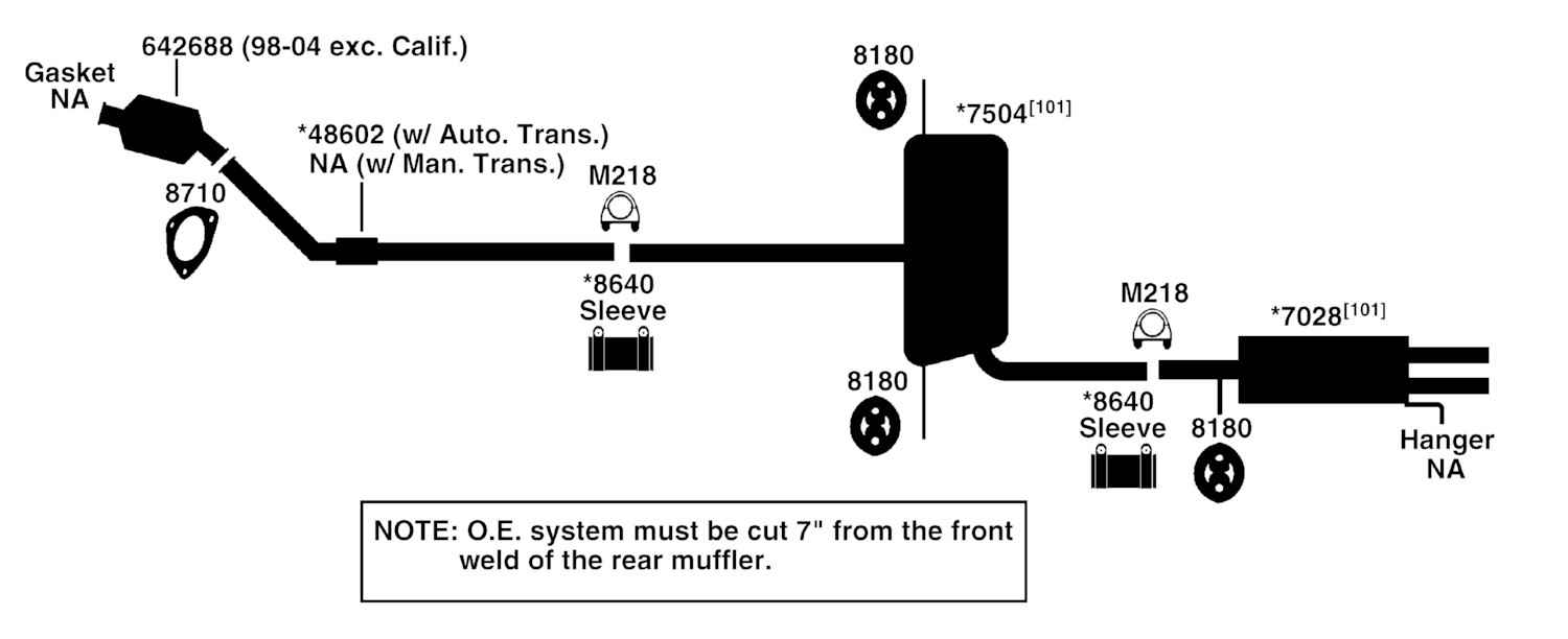 2003 Volkswagen Jetta Exhaust Diagram Category Exhaust Diagram