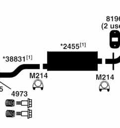 2001 ford explorer sport trac exhaust diagram wiring diagram used 2001 ford explorer sport trac exhaust [ 1500 x 526 Pixel ]