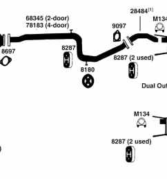 mitsubishi exhaust diagram wiring diagram technic mitsubishi mirage exhaust diagram from best value auto parts1995 mitsubishi [ 1500 x 726 Pixel ]