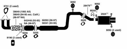 small resolution of 1996 ford probe exhaust diagram category exhaust diagram description
