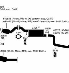 2000 f150 exhaust system diagram [ 1500 x 679 Pixel ]