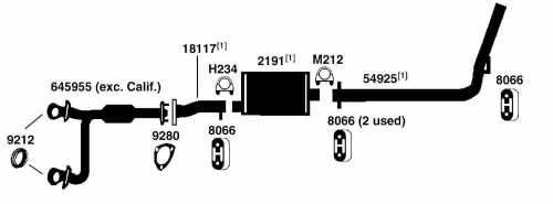 small resolution of chevrolet astro van exhaust diagram from best value auto parts 1996 chevrolet astro van exhaust diagram category exhaust diagram