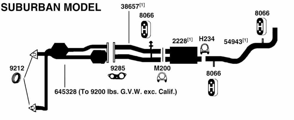 medium resolution of gmc suburban k1500 exhaust diagram from best value auto parts chevy suburban exhaust diagram 1996 gmc