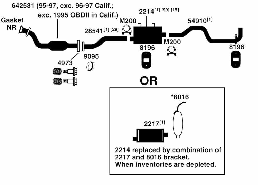 medium resolution of ford f150 exhaust diagram wiring diagram blog 2006 f150 4 6 exhaust system 2006 f150 exhaust diagram