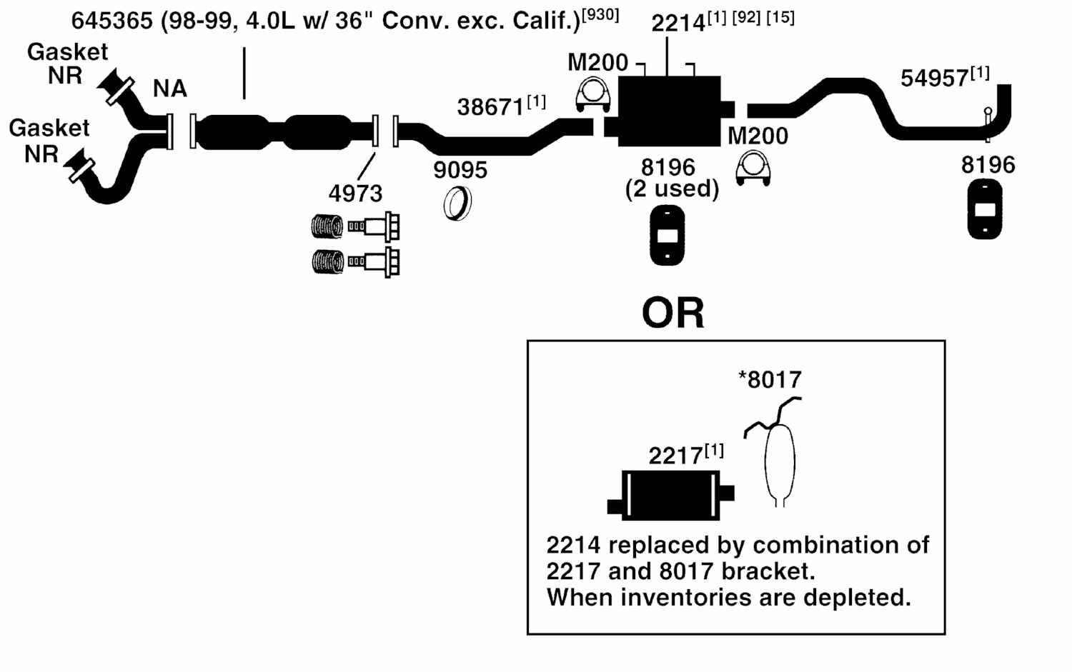 1996 ford ranger parts diagram ge rr7 relay wiring 98 exhaust free engine image for