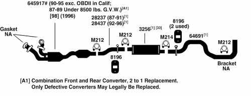 small resolution of 1996 ford econoline e350 exhaust diagram category exhaust diagram