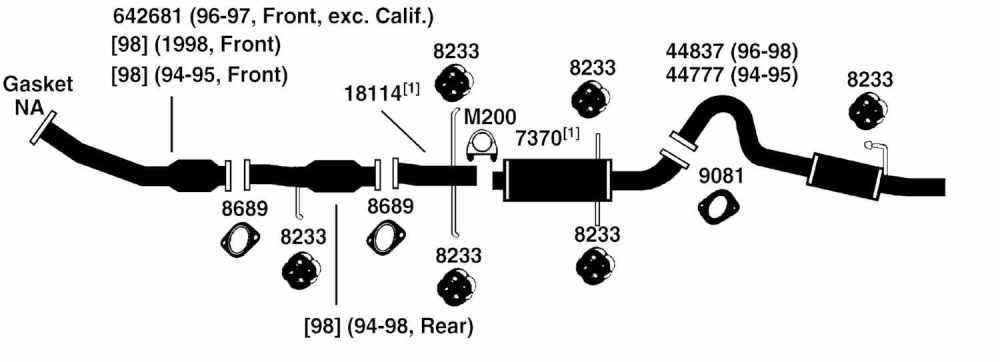 medium resolution of mazda mpv exhaust diagram from best value auto parts mazda 3 mps exhaust diagram mazda exhaust diagram