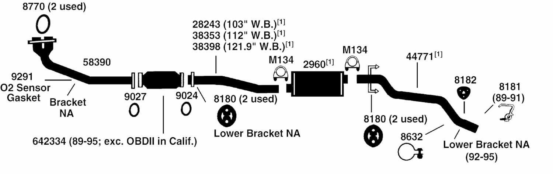 Toyota Land Cruiser Exhaust System