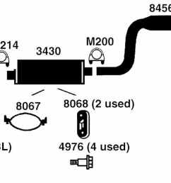 dodge caravan exhaust diagram from best value auto parts caravan body kits 1995 dodge caravan exhaust [ 1500 x 615 Pixel ]