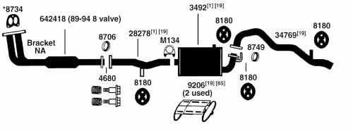 small resolution of geo tracker exhaust diagram from best value auto parts rh bestvalueautoparts com 2000 chevy tracker exhaust system diagram 2002 chevy tracker