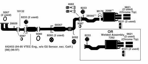 small resolution of 2002 honda accord exhaust system diagram furthermore 1999 honda 1992 honda accord engine diagram exhaust