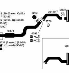 99 civic exhaust diagram wiring diagram 99 civic coupe exhaust system 99 civic exhaust diagram [ 1500 x 654 Pixel ]