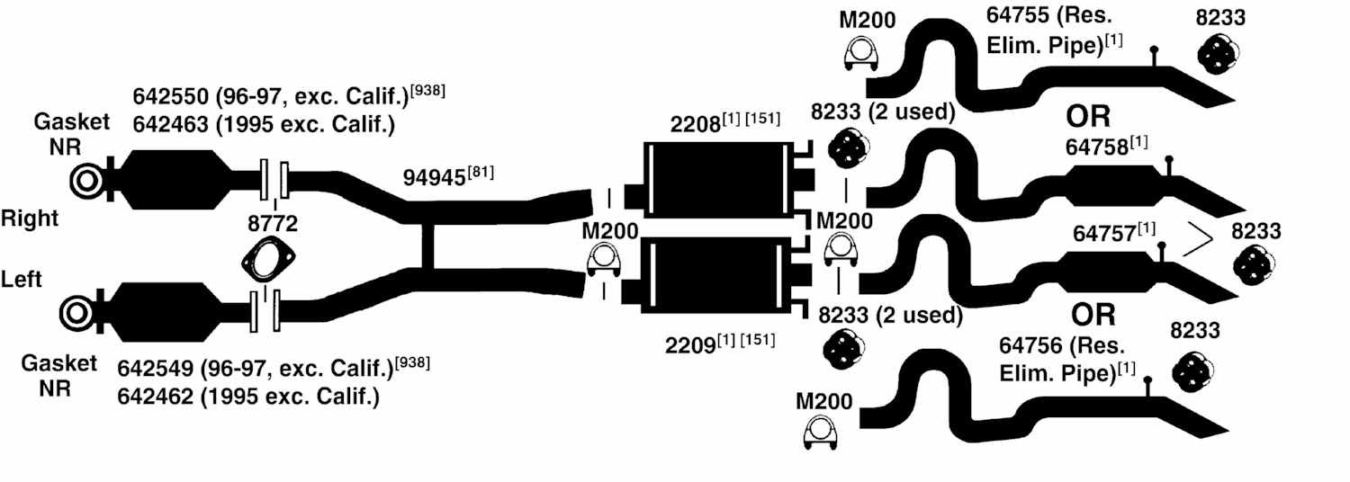 hight resolution of lincoln town car exhaust diagram from best value auto parts rh bestvalueautoparts com 1995 lincoln town