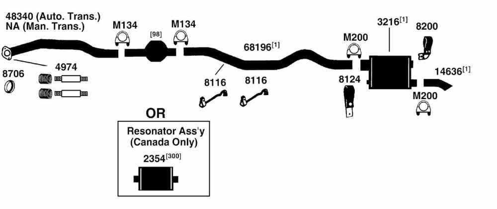 medium resolution of nissan datsun altima cat converter gasket from best value auto parts 2001 nissan altima exhaust system nissan altima exhaust diagram