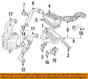 HONDA OEM 9093 Accord EngineAir Cleaner Filter Element