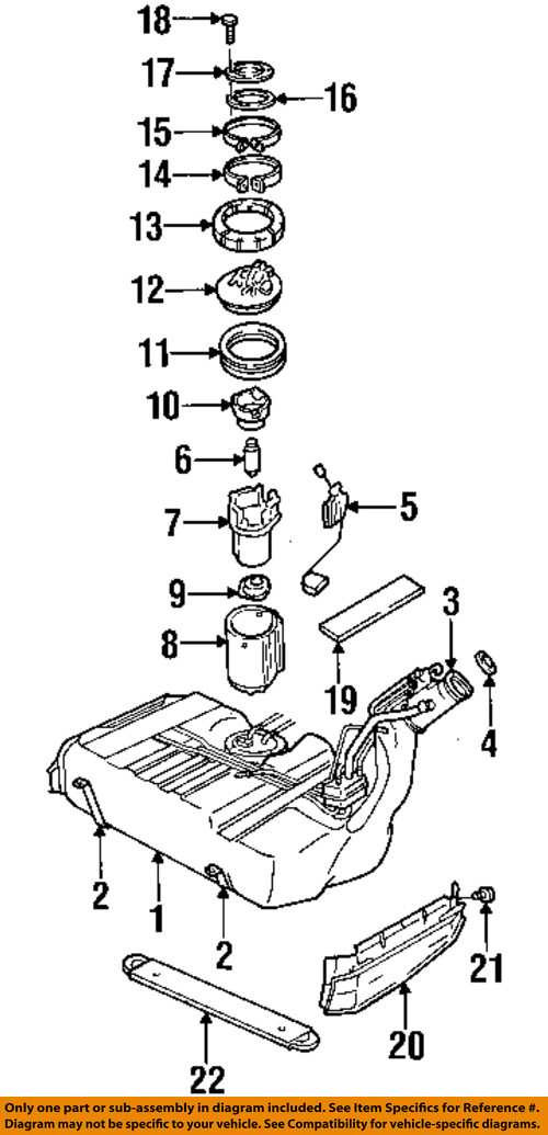Cadillac GM OEM 97-01 Catera 3.0L-V6 Fuel System