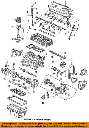 HONDA OEM 9093 AccordEngine Cylinder Head Gasket 12251PT0J02   eBay