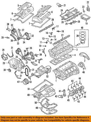 BMW OEM 0410 X5Engine Crankshaft Crank Main Bearing