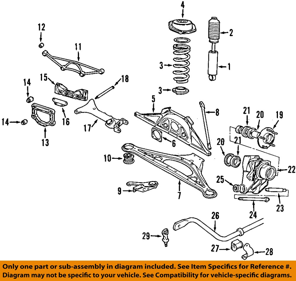 Jaguar Suspension Diagram