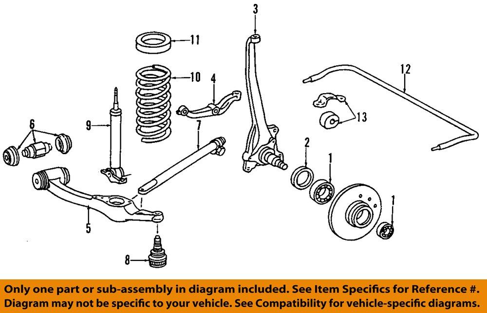 Mercedes Benz Parts Diagram