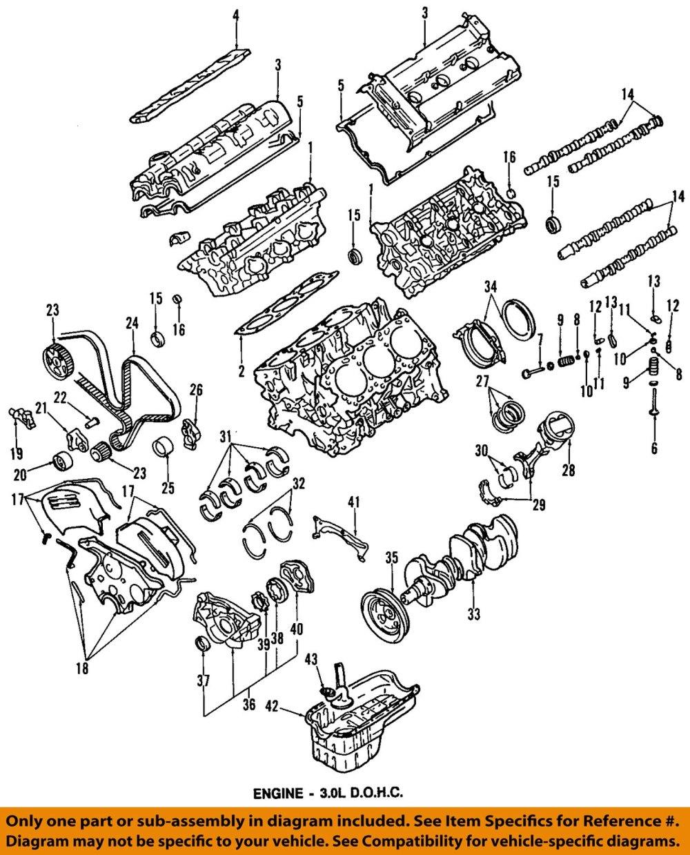 medium resolution of mitsubishi oem 91 99 3000gt engine timing belt md193874