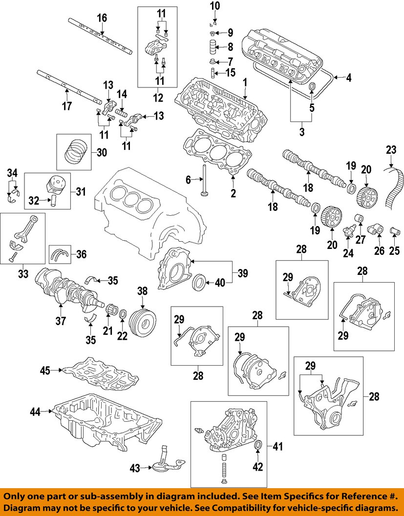 medium resolution of 1990 honda civic engine diagram besides 1996 honda accord valveacura honda oem engine parts valve cover