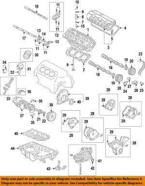 HONDA OEMEngine Crankshaft Crank Seal 91212R70A02 | eBay