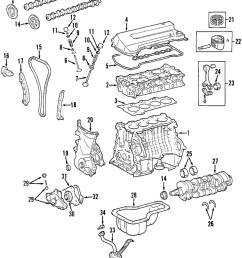 toyota oem engine crankshaft crank seal 90080 31049 factory various19 on diagram only genuine oe factory [ 857 x 1059 Pixel ]