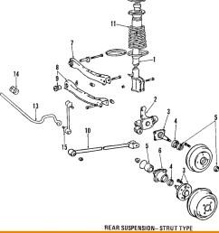1999 toyotum corolla rear suspension diagram toyota 98 00 corolla rear suspension strut mount  [ 896 x 1062 Pixel ]