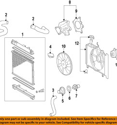 image is loading toyota oem engine water pump 161002915783 [ 1000 x 1003 Pixel ]