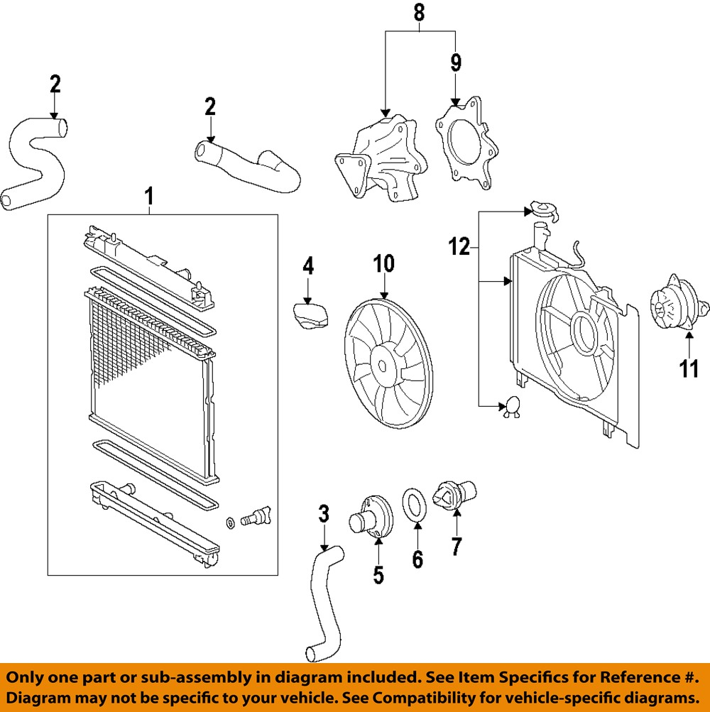 hight resolution of image is loading toyota oem engine water pump 161002915783