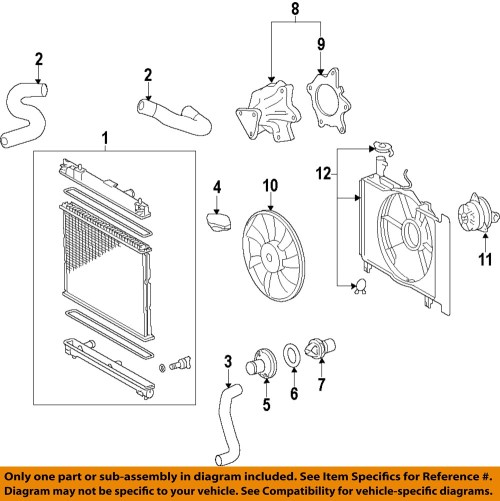 small resolution of image is loading toyota oem engine water pump 161002915783