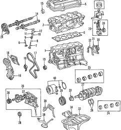 2000 toyota rav4 2 0l engine oil pump genuine oem new 1996 toyota corolla engine motor 1996 toyota corolla engine motor [ 858 x 1059 Pixel ]