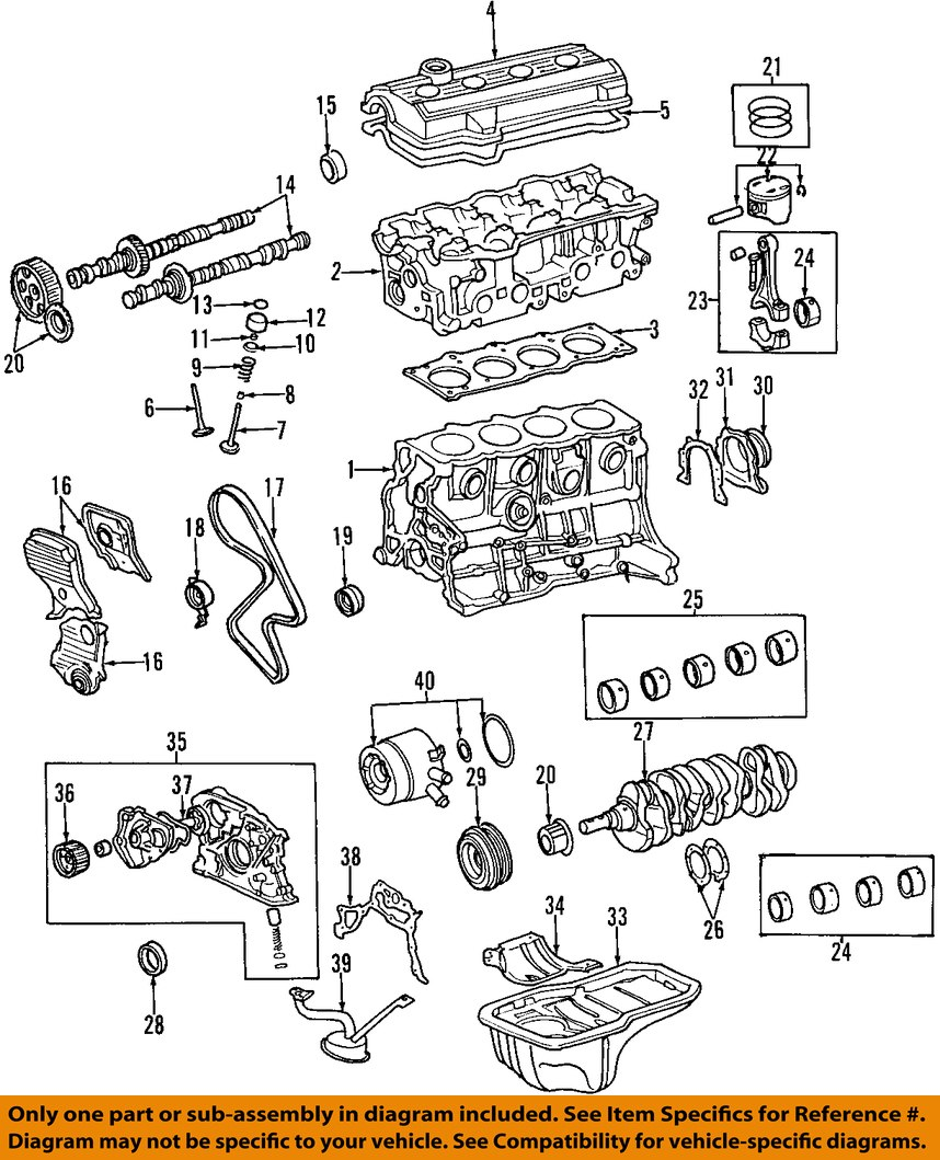 1995 toyota camry engine diagram 3sgte wiring oem 1991 2001 drive timing belt 13568 09041 17 on only genuine oe factory original item