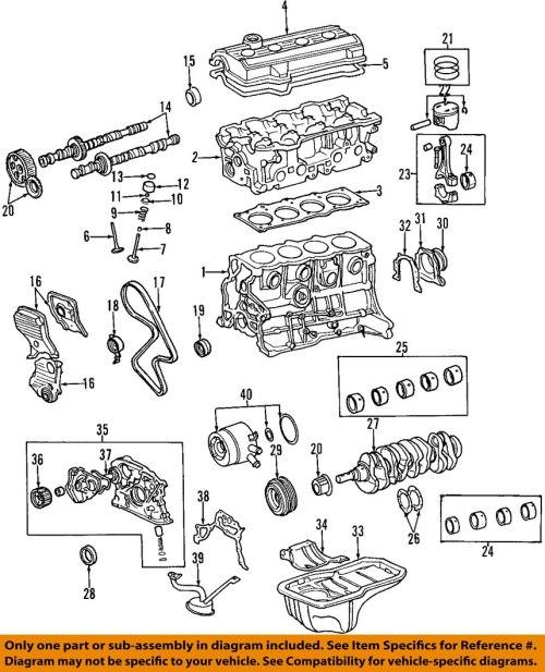 small resolution of 2000 toyota rav4 2 0l engine oil pump genuine oem new 1996 toyota corolla engine motor 1996 toyota corolla engine motor
