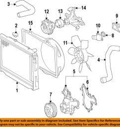 image is loading toyota oem engine water pump 1610009491 [ 1000 x 979 Pixel ]