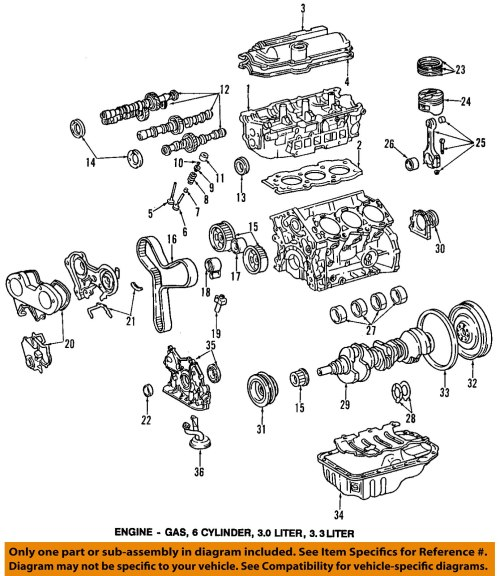 small resolution of toyota oem engine crankshaft crank seal 90311 40022 factory various rh ebay com 2002 toyota echo parts diagram 2001 toyota tacoma parts diagram