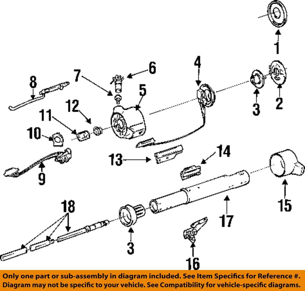Chevy Steering Column Diagram