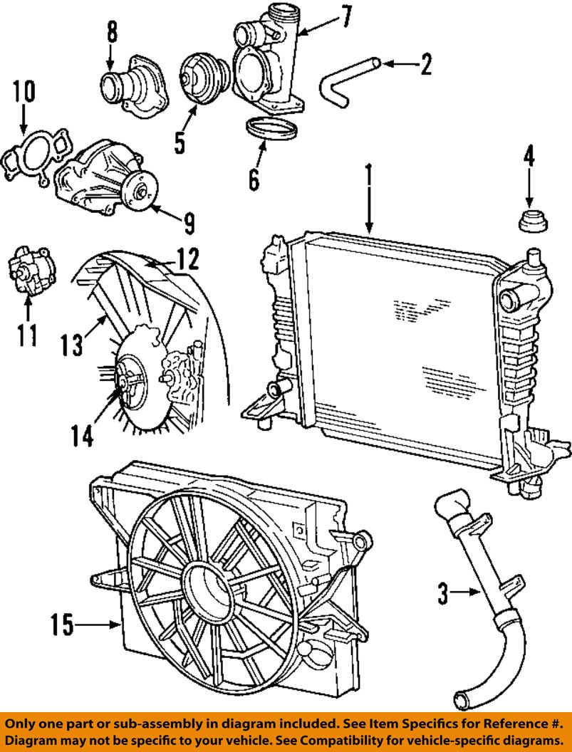 medium resolution of 2000 lincoln ls cooling system diagram on 2000 lincoln ls suspension 2000 lincoln ls cooling diagram