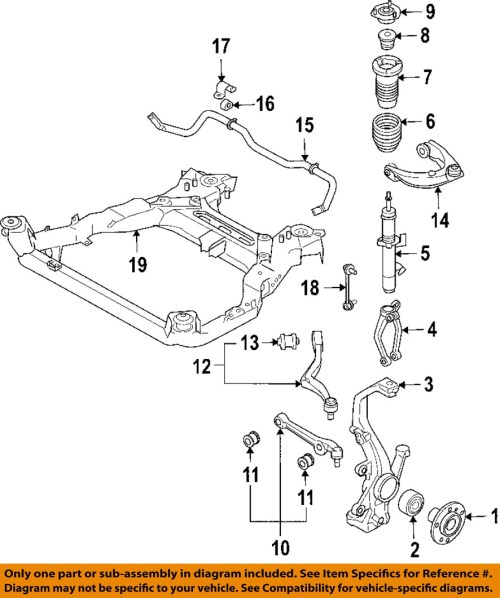 small resolution of details about ford motorcraft mcf10 oem lower control arm front driver side be5z 3079 a
