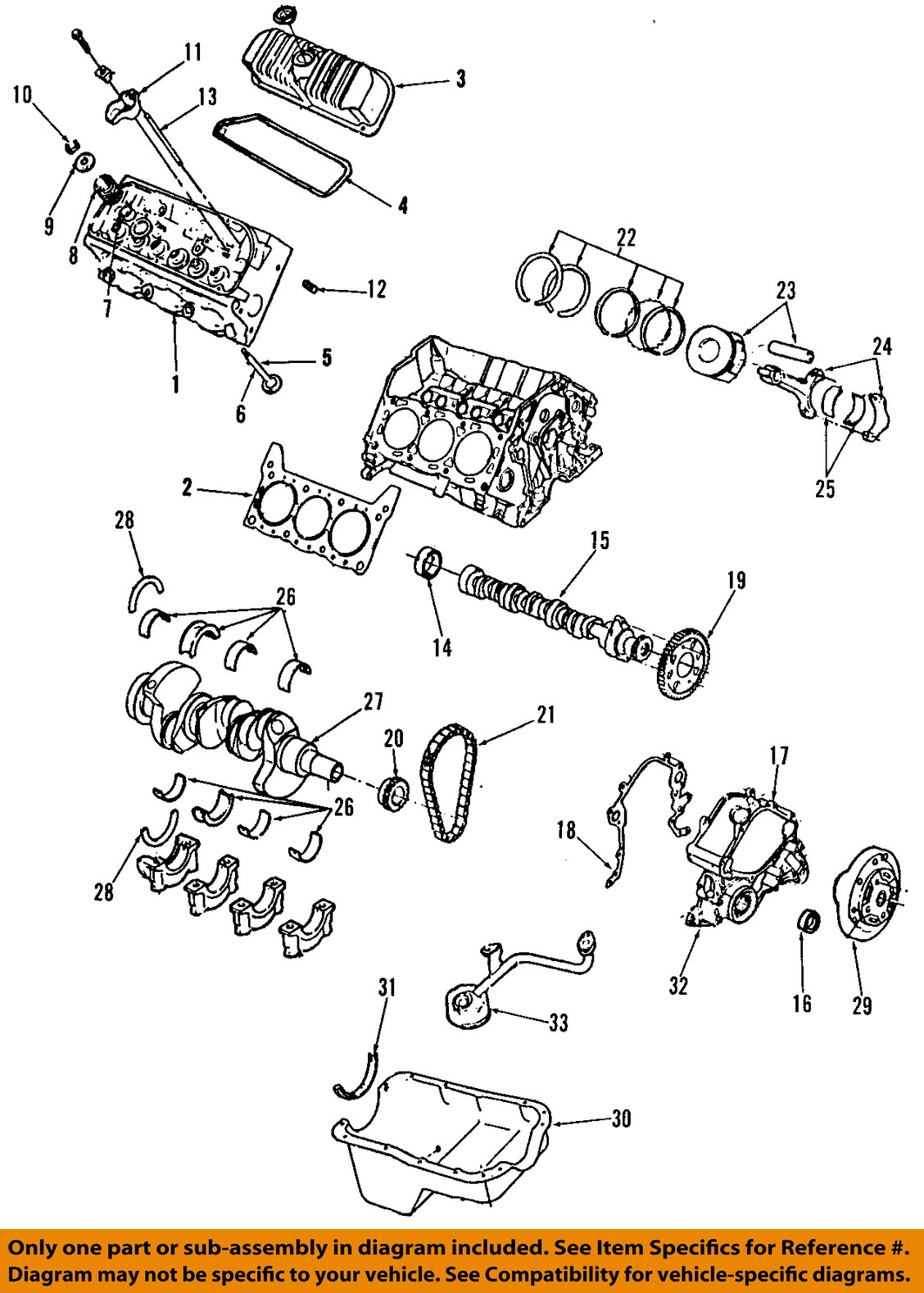 hight resolution of ford oem mustang engine harmonic balancer rzbba image is loading ford oem 01 04 mustang engine