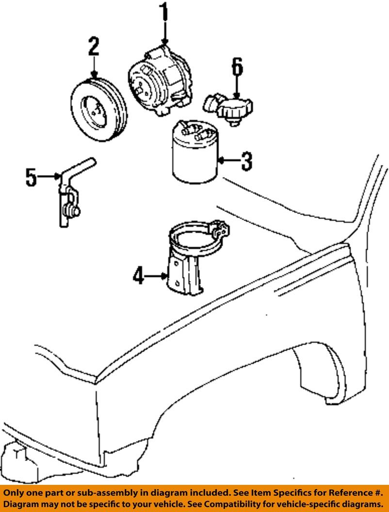 6 on diagram only genuine oe factory original item